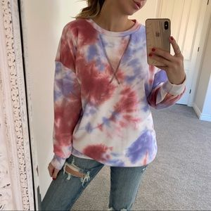Reposh Tie Dye Sorbet Sweater